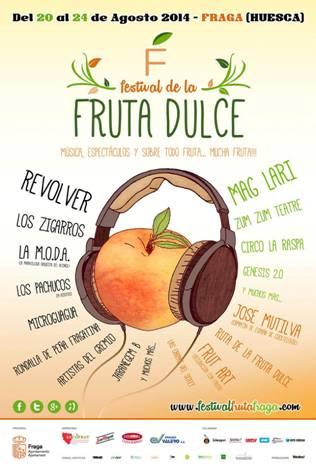 festival fruta dulce fraga
