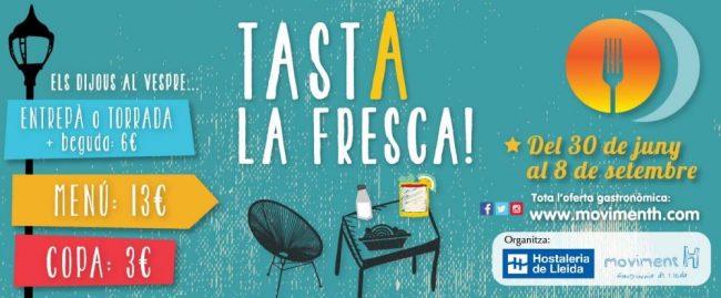 Hasta el 8 de septiembre la ciudad de Lleida ofrece menús, tapas, bebidas y más a precios especiales todos...