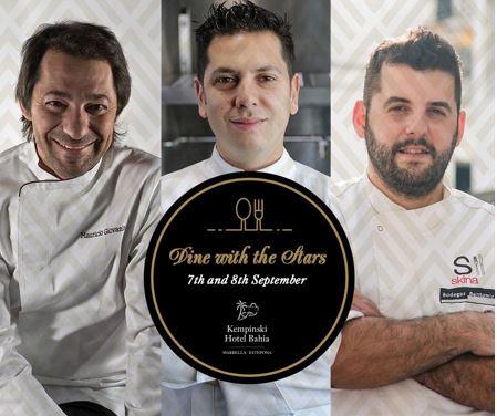 El 7 y 8 de septiembre, el hotel de 5 estrellas Kempinski Bahía de Estepona acogerá los menús de...